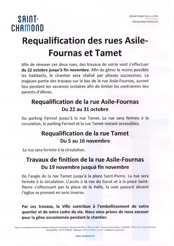 requalification rues Asile-Fournas et Tamet