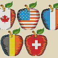 Motifs gratuits : pour nos fêtes nationales - free designs : for our national holidays