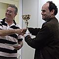 Hyères février 2009 Remise des Prix Open A Bernard Ramazzotti (Photo Christophe Auberger)