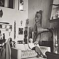 Max ernst in peggy guggenheim's new york home (1942)