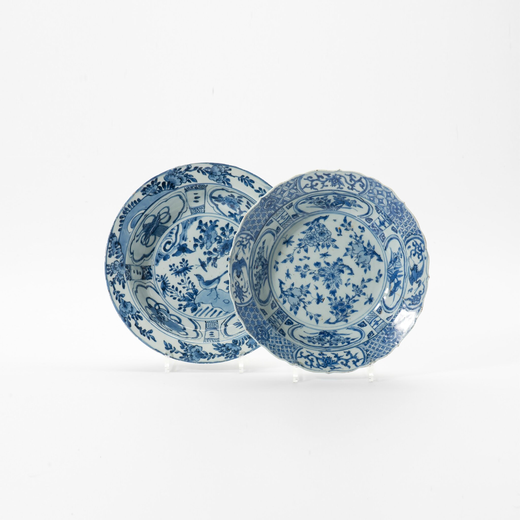 Two large dishes, Wanli period (1573-1619)