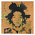 Warhol's portrait of basquiat from the collection of peter brant highlights christie's sale
