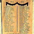 Les 51 anciens élèves de l'école pratique de saint-chamond, morts pour la france