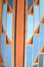 art déco Sonia Delaunay papier peint rythmes colorés