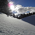 Soleil, neige et tartiflette