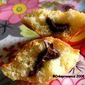 Madeleines surprises au nutella