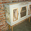 Enfilade - commode art deco upcycling