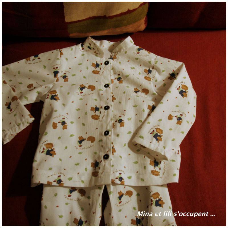 Pyjama citronille