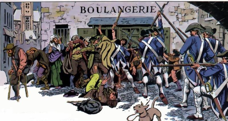 Le 25 août 1790 à Mamers : police des marchés, démission d'un des prud'hommes.