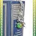 Marque page dragon vert (2)