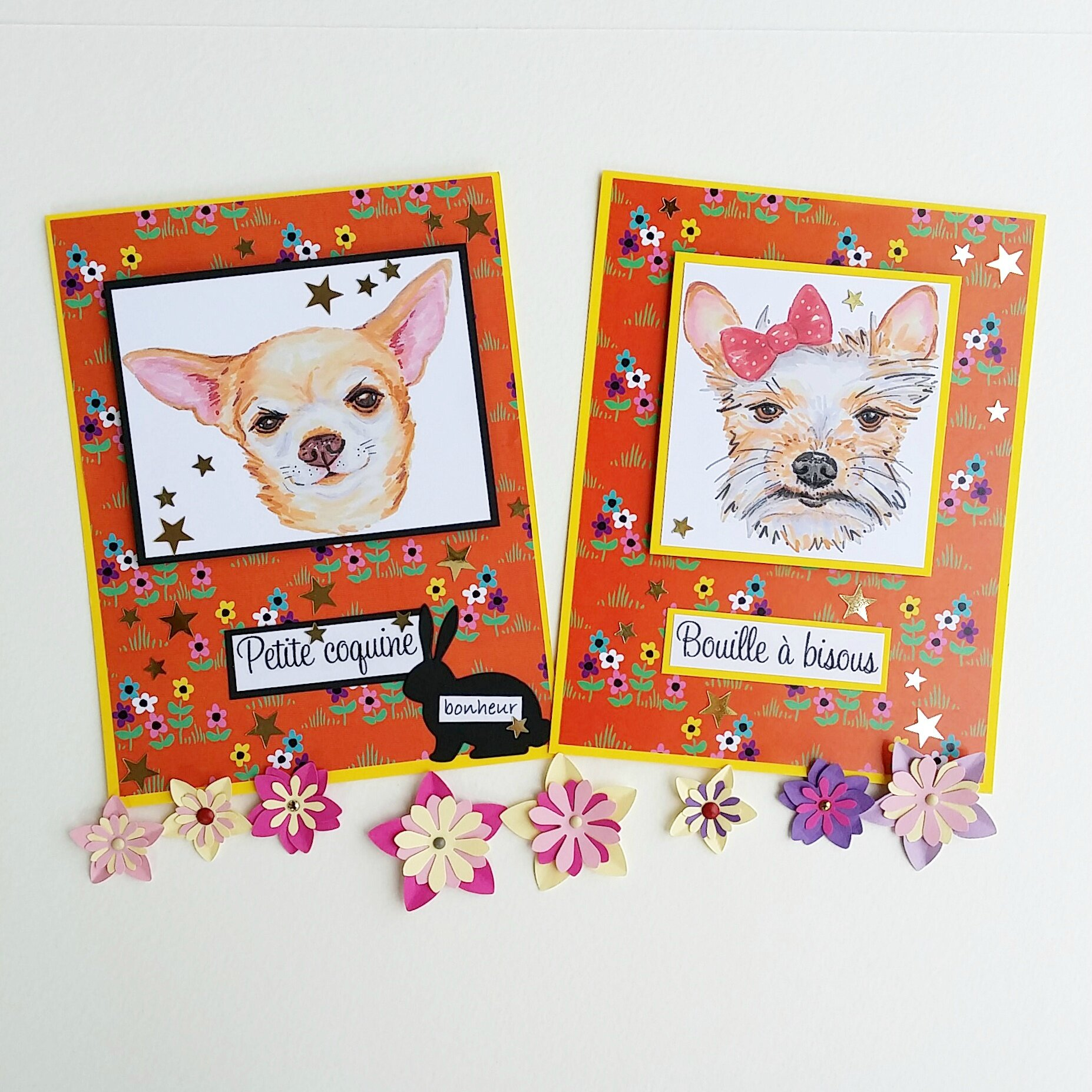 vanillejolie cartes chien