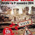 zombie walk lille affiche officiel 2014