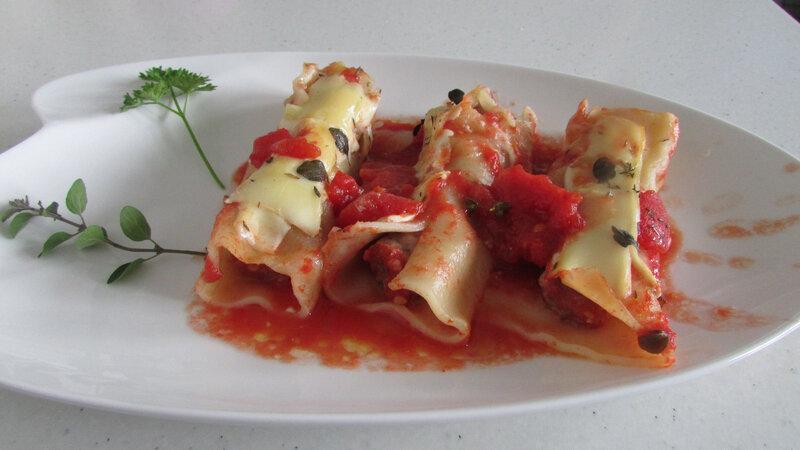 cannellonis farce légumes viande tomates pelées 015