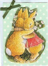 Carte lapins Hug