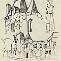 Carnet de voyage-cadaujac-chateau bardins-2009