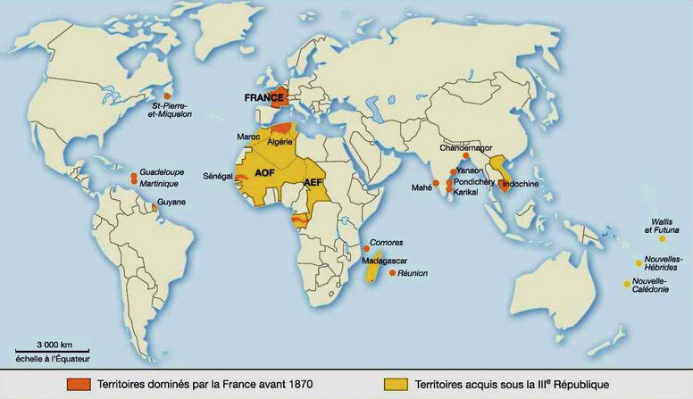 empire colonial français en 1914