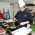 Filets de merlans de ligne panés à l'anglaise
