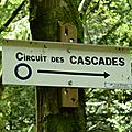 Kruth : circuit des cascades et lac