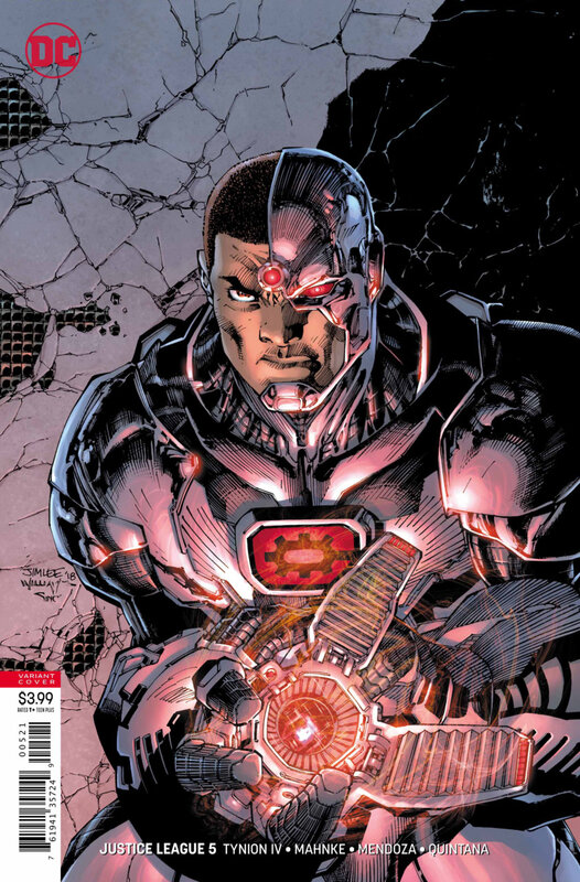 rebirth justice league V2 05 jim lee variant