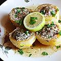 Batata mahchia - pommes de terre farcies au veau