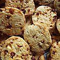 Cookies Tomates Séchées - Chorizo