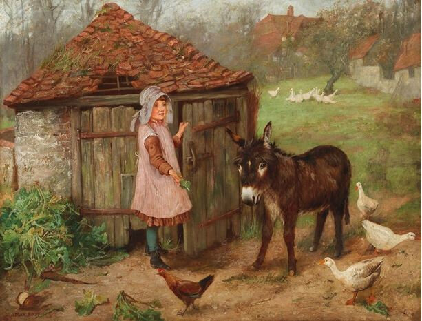 Edgar Bundy - Little Donkey 1889
