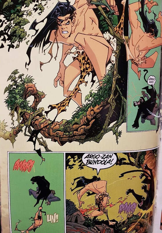 elseworlds superman tarzan sons of the jungle 01 a