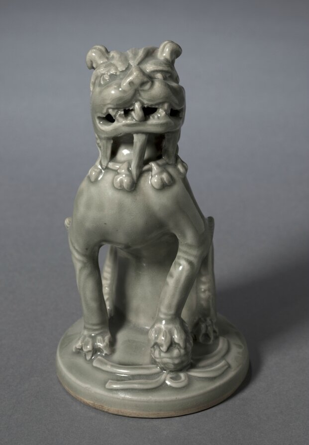 Incense Burner Top in the Shape of a Lion, 1100s, China, Shaanxi province, Northern Song dynasty (960-1127)
