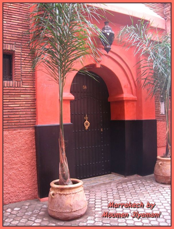 Porte typique Marocaine