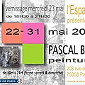 Prochain rendez-vous paris, mai et juin 2012