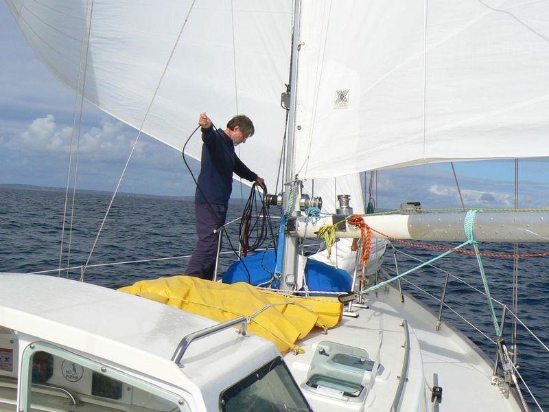 Jacques, notre skipper