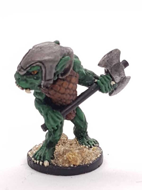 Orc of the Severed Hand - Axeman / Grenadier
