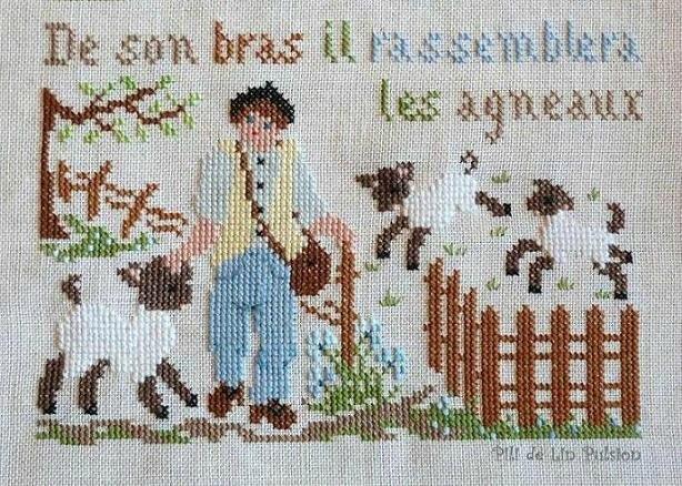 """""""De son bras, il rassemblera les agneaux..."""""""