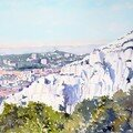 Marseille, vue des collines