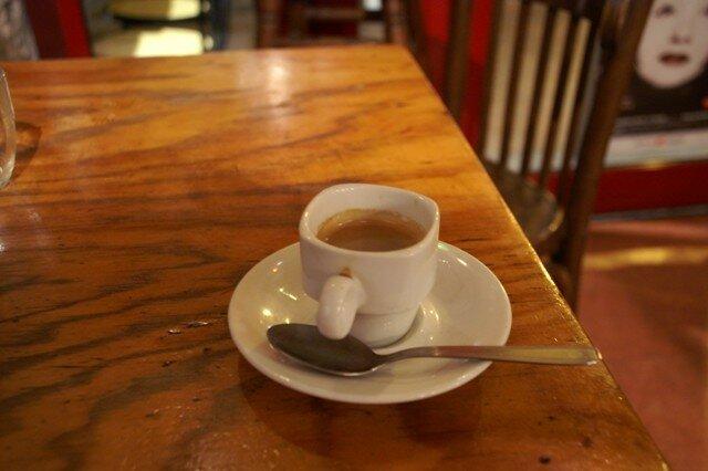 un café au Sherpa