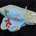Hippo Teletubbies sur le dos