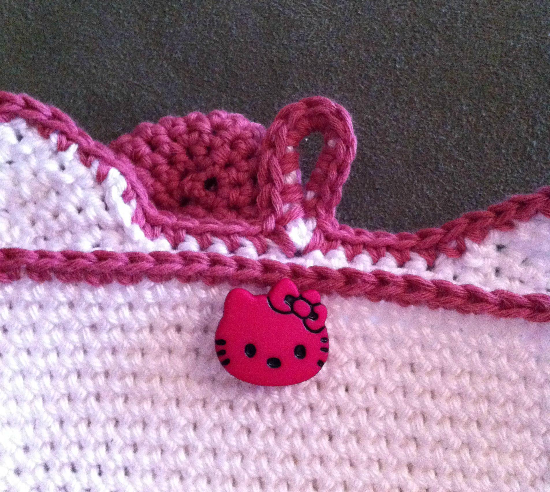 Sac Hello Kitty détails de l'arrière