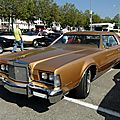 Lincoln continental mark iv hardtop coupe, 1974