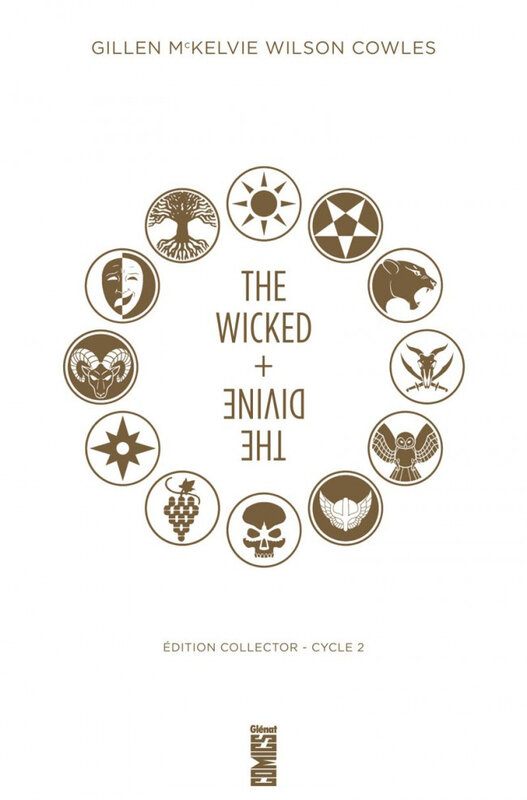 glénat the wicked + the divine 02 édition collector