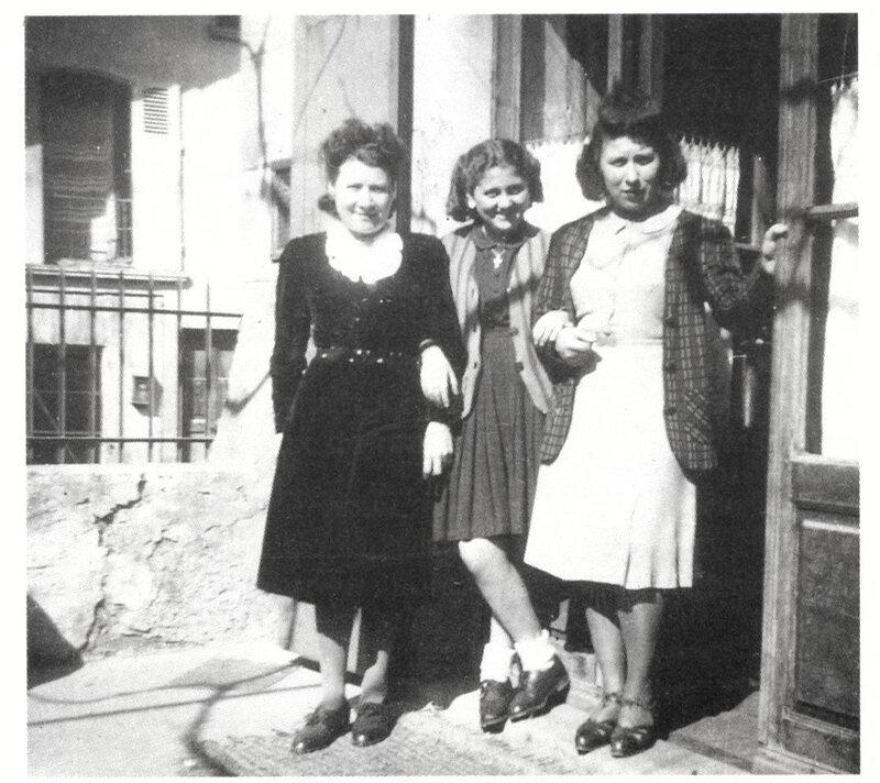 Mimi, sa mamamn et Jeannine 1944