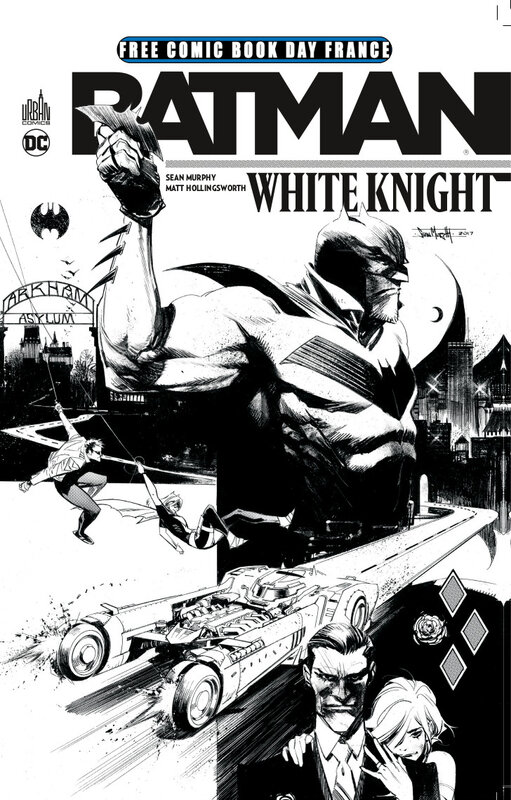 fcbd 18 urban batman white knight