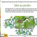 👨🌾 mai au jardin par paysagiste pays basque.