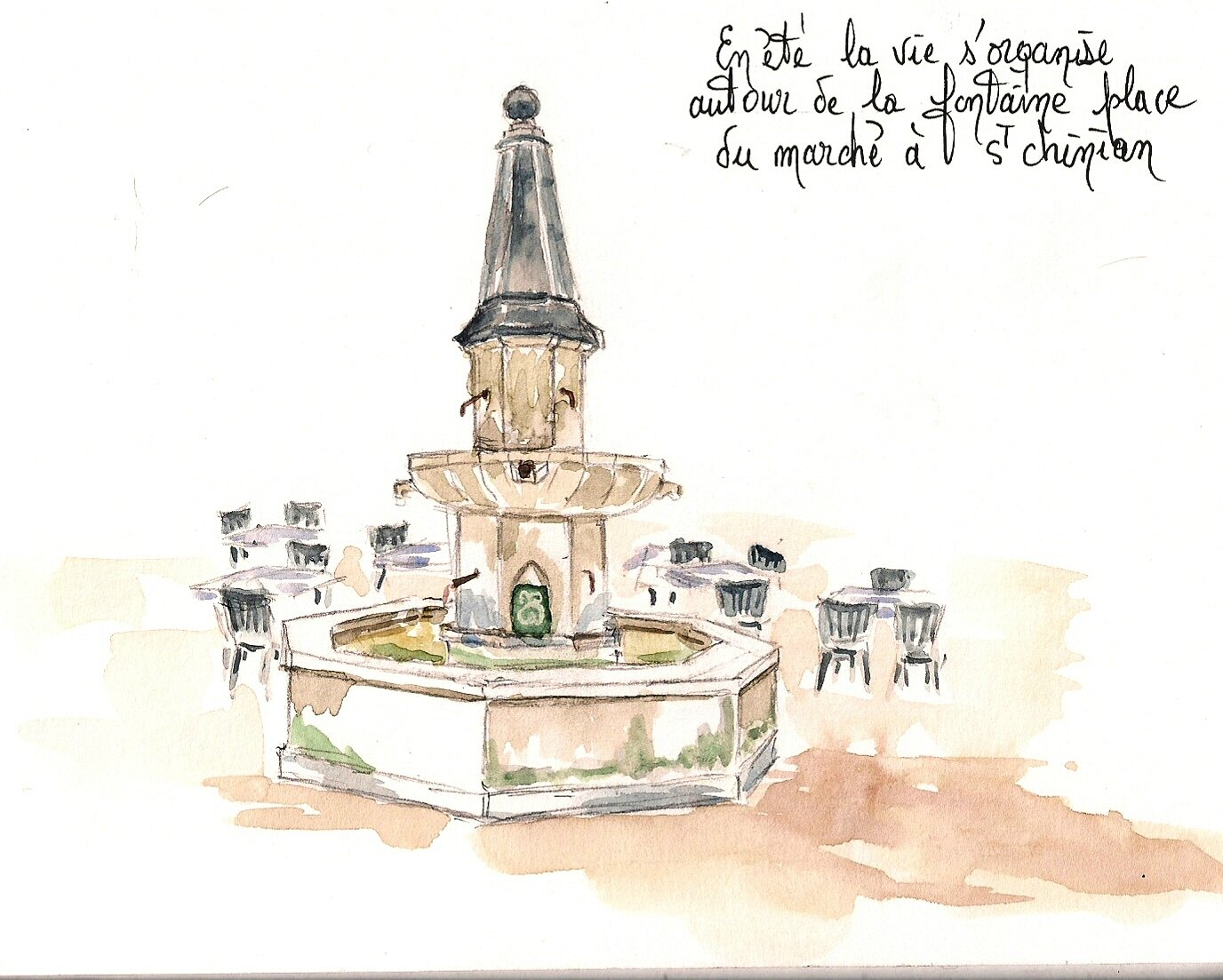 Fontaine St Chinian