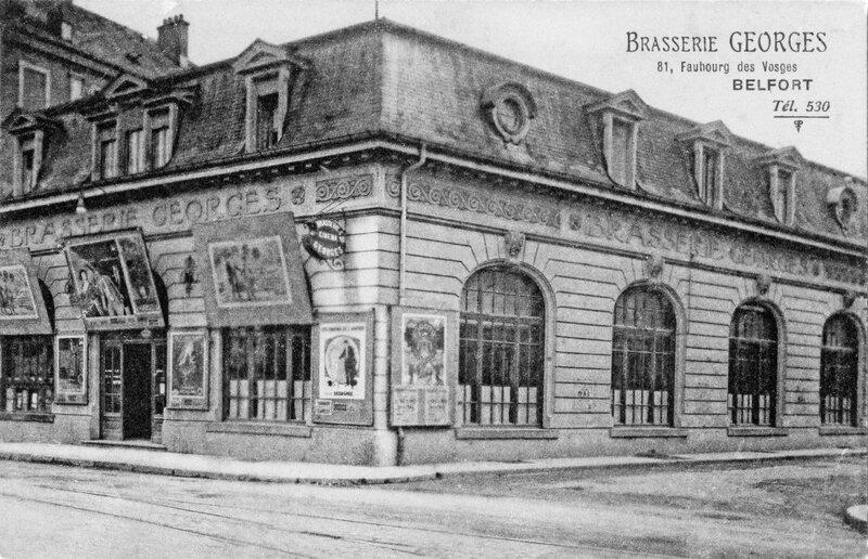 CPA Belfort Brasserie Georges