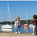 Soleil, lac et bateaux - sun, lake and boats