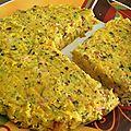 Moelleux aux courgettes, carottes et jambon - by claire -