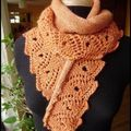 Scroll Lace Scarf