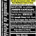 Programme janvier 2017