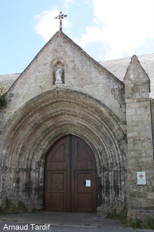 002159 Noirmoutier Juin 2020 - Les Marais Bretons Vendéens - L'église St Philbert à Beauvoir