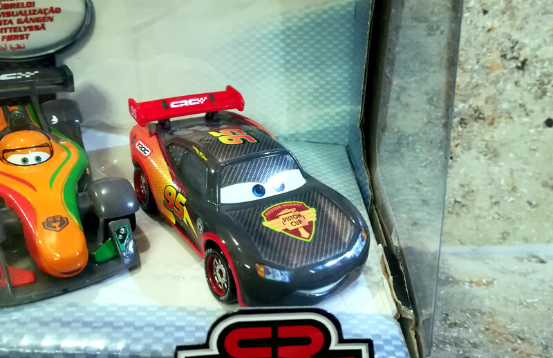 Flash (carbon) Mattel cars